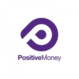 Logo of Positive Money.