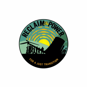 Logo of Reclaim the Power.