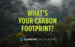 Campaign image: What's your carbon footprint?