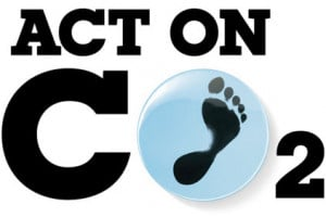 Logo of Act on CO2 a UK government climate campaign